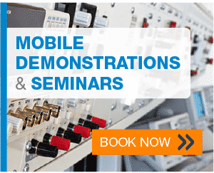 Mobile demonstrations and webinars - Book Now