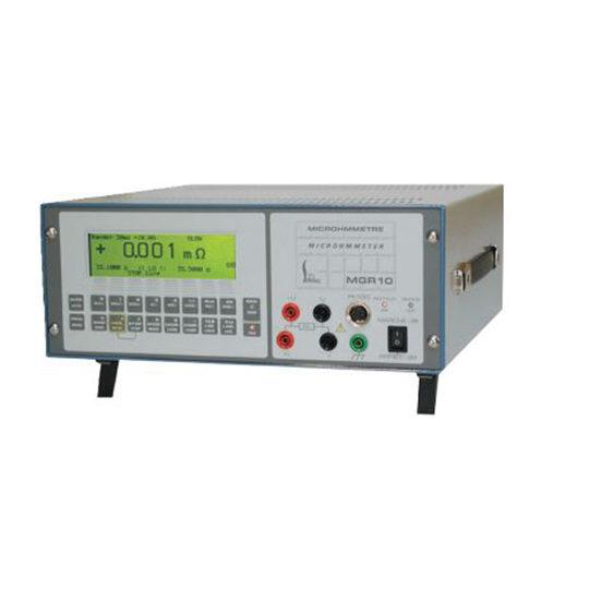 MGR10 Series - Sefelec microhmmeter