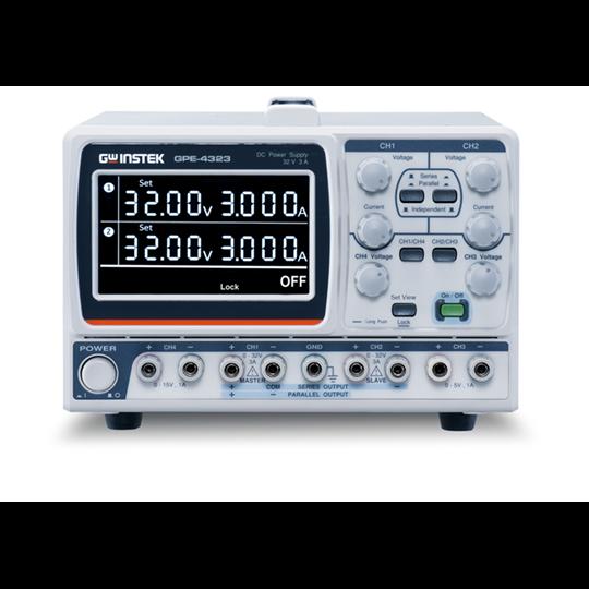 GPE-X323: High Resolution DC Power Supplies