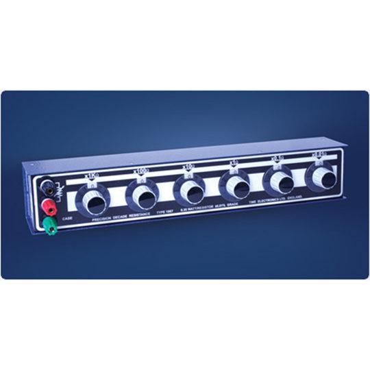 1067 Precision Resistance Decade Box - Time Electronics