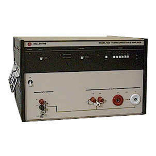 BLI 1620A - Ballantine Laboratories Transconductance Amplifier