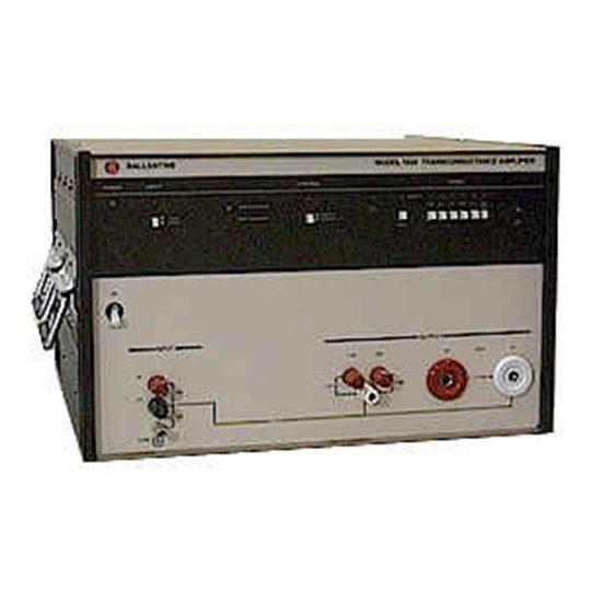 BLI 1620A - Ballantine Laboratories Transconductance Amplifier