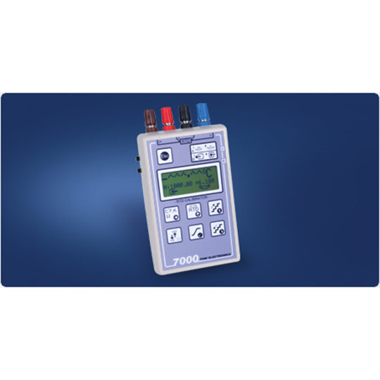 7000 RTD Temperature Calibrator - Time Electronics