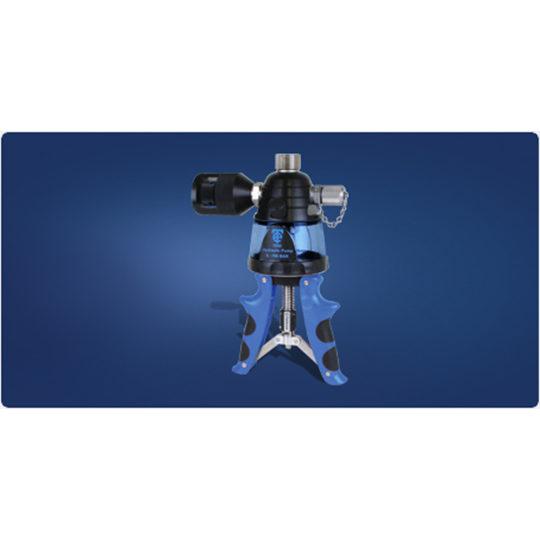 7095 Handheld Hydraulic Pressure Calibration Pump - Time Electronics