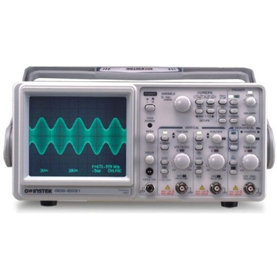 GOS-6000 Series - GW Instek Analog Oscilloscopes
