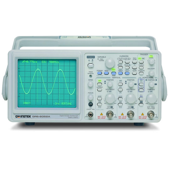 GRS-6000A Series Digital Storage Oscilloscope