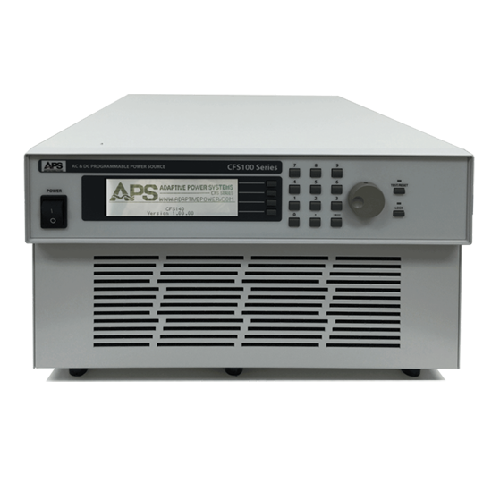 CFS-Series: Single and Three Phase AC and DC Power Supplies in One Chassis