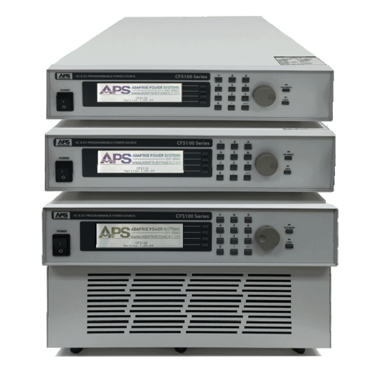 CFS-Series: Single and Three Phase AC and DC Power Supplies three units