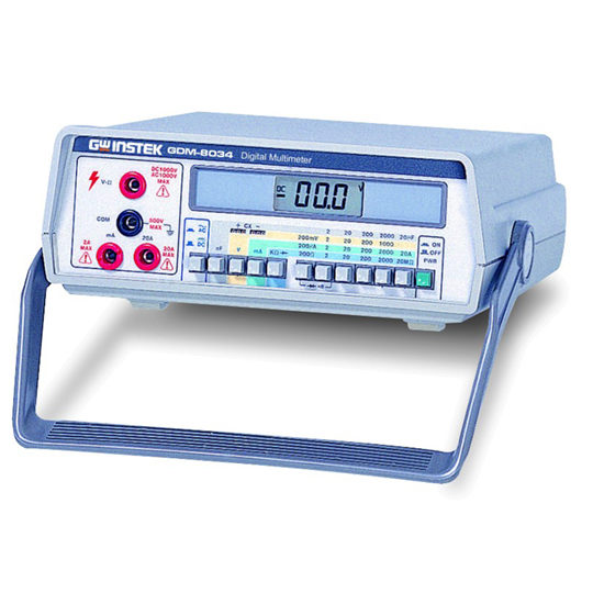 GDM-8034 - GW Instek Digital MultiMeter 2