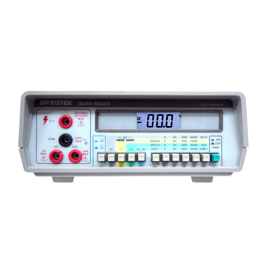 GDM-8034 - GW Instek Digital MultiMeter