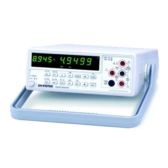 GDM-8245 - GW Instek Digital MultiMeter