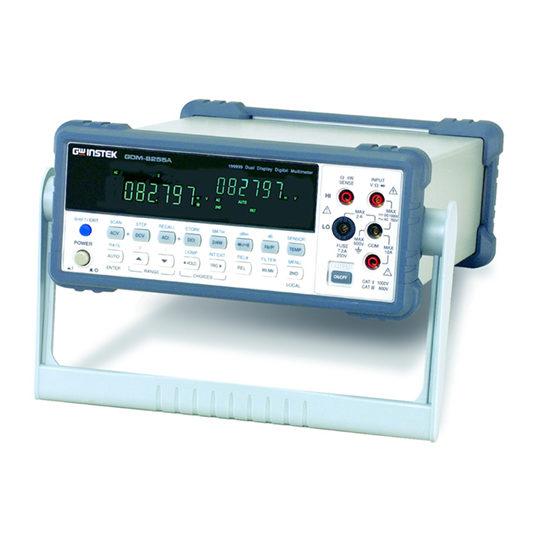 GDM-8255A series 5 1/2 digit dual-display digital multimeter