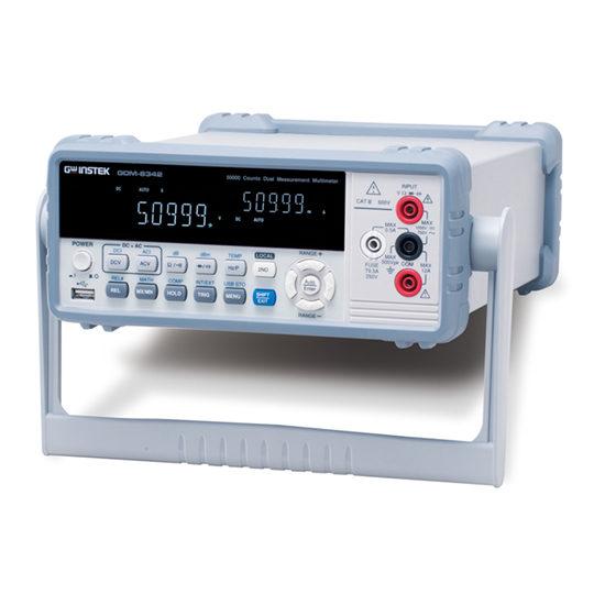 GDM-8342 & GDM-8341 - GW Instek Dual Measurement Multimeter