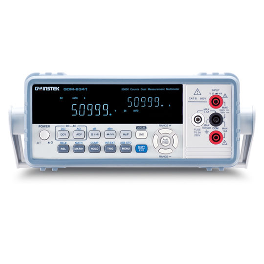 GDM-8342 & GDM-8341 - GW Instek Dual Measurement Multimeter 2