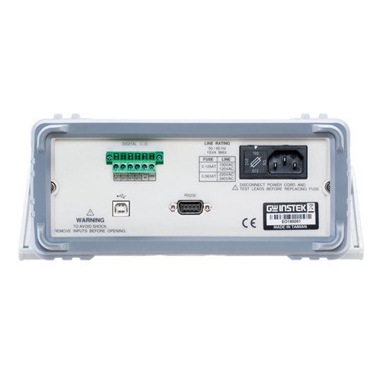 GDM-8351 Digit Dual Measurement Multimeter back