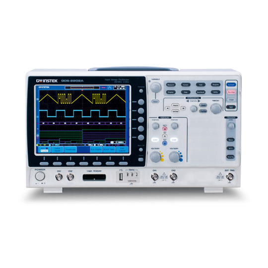 GDS-2000A Series - GW Instek Digital Storage Oscilloscope