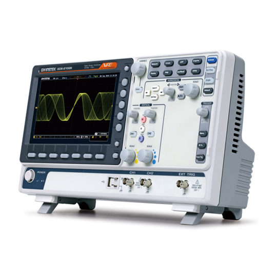 GDS-2000E Series - GW Instek Digital Storage Oscilloscope
