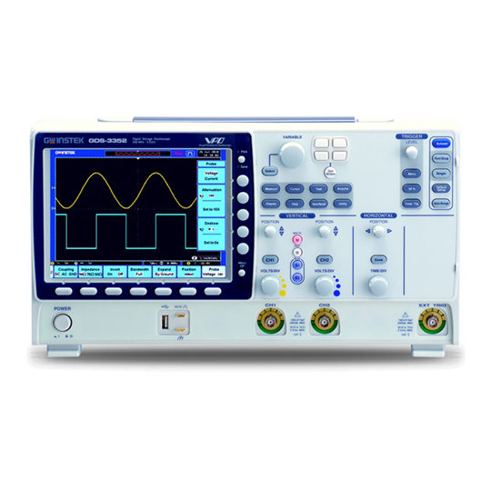 GDS-3000 Series - GW Instek Digital Storage Oscilloscope 2