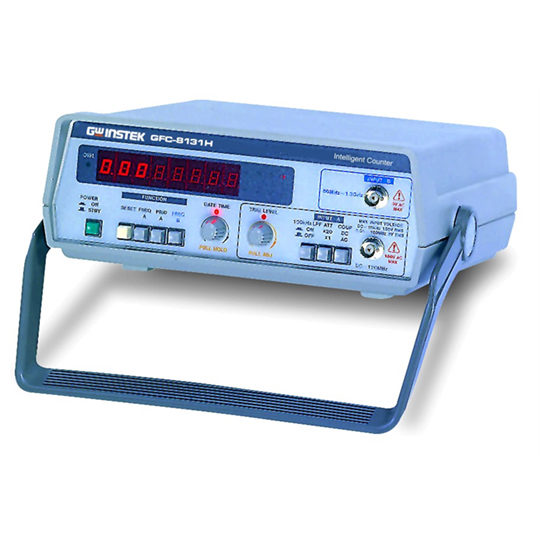 GFC-8270H & GFC-8131H - GW Instek frequency counter 2