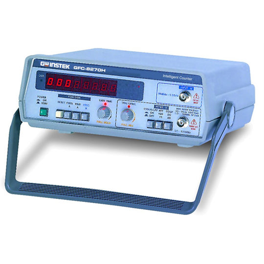 GFC-8270H & GFC-8131H - GW Instek frequency counter