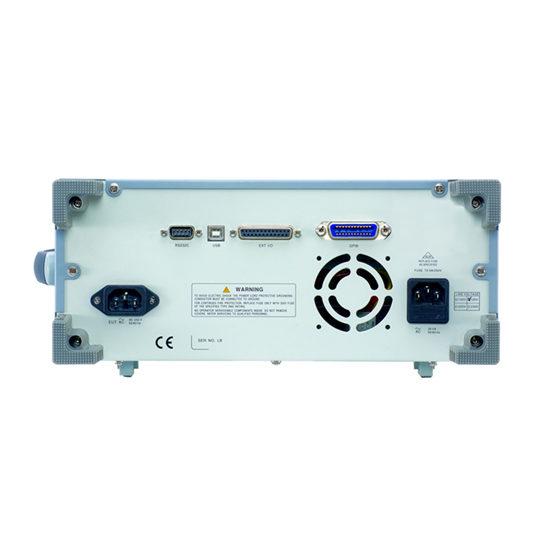 GLC-9000 - GW Instek back