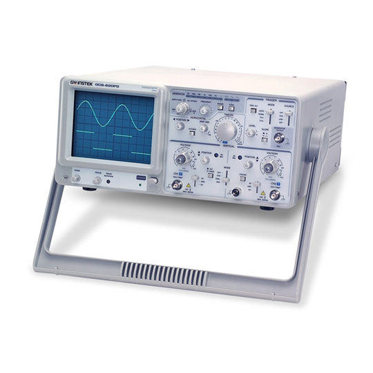 GOS-620FG General Purpose Analog Oscilloscope