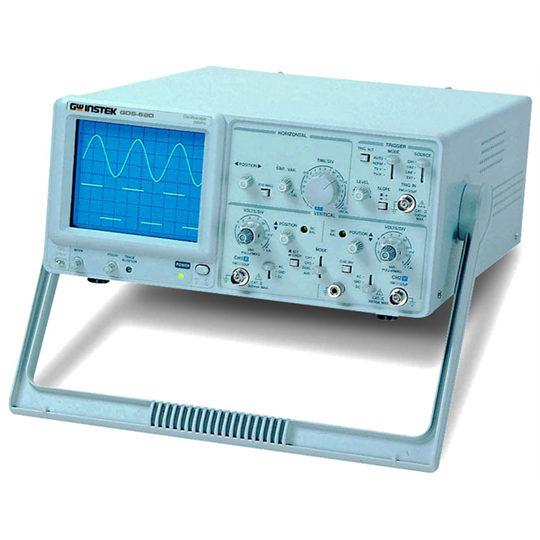 GOS-620 and GOS-630 Analog Oscilloscope