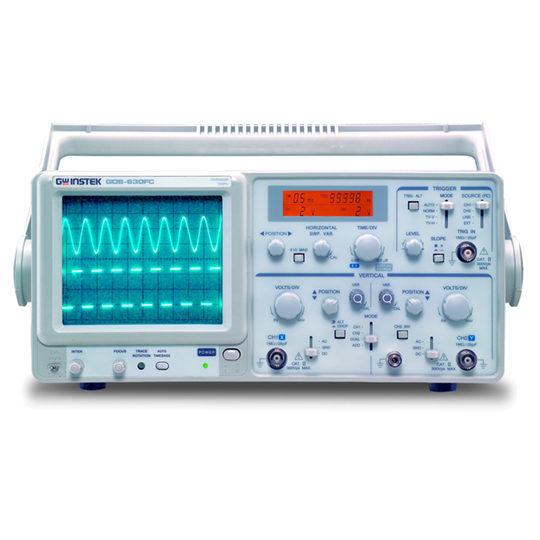 GOS-630FC - GW Instek Analog Oscilloscope 2