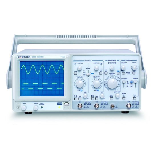 GOS-635G & GOS-622G - GW Instek analogue oscilloscopes
