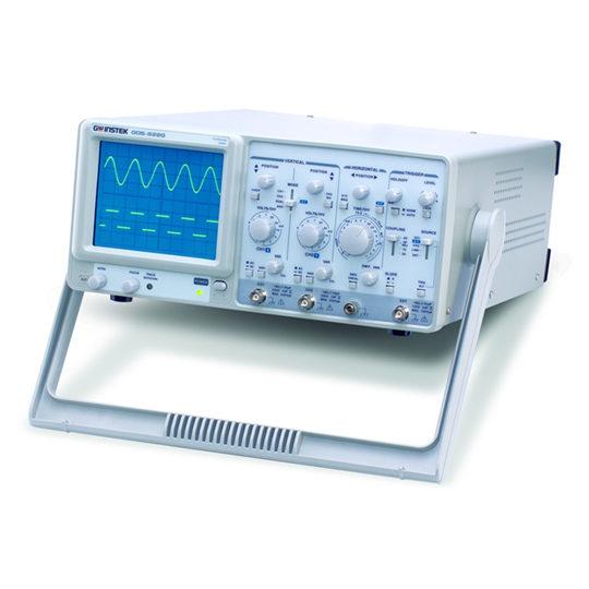 GOS-635G & GOS-622G - GW Instek analogue oscilloscopes 2