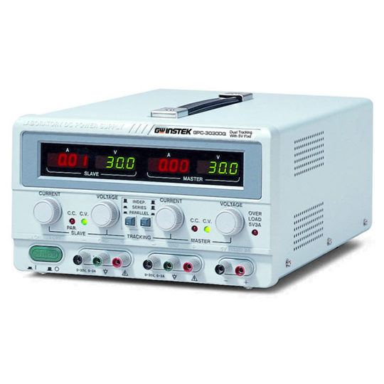 GPC-Series triple output, linear DC power supplies