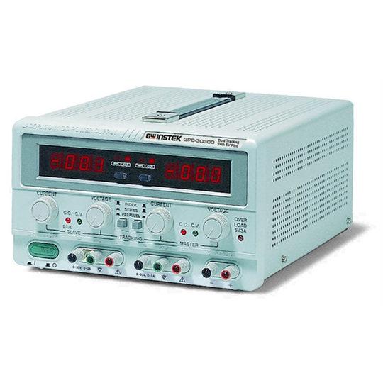 GPC-Series triple output, linear DC power supplies 2