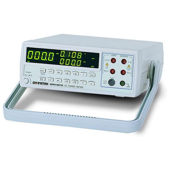 GW Instek GPM-8212 bench-top power meter front