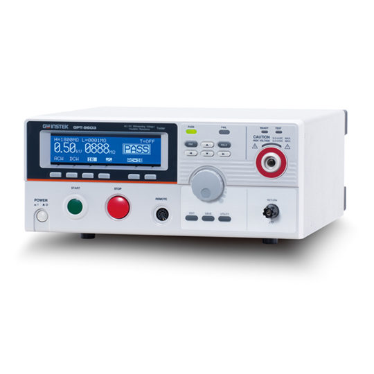 GPT-9600 Series: Safety Testers - GW Instek