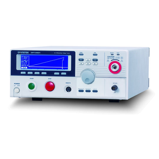 GPT-9900 Series - GW Instek