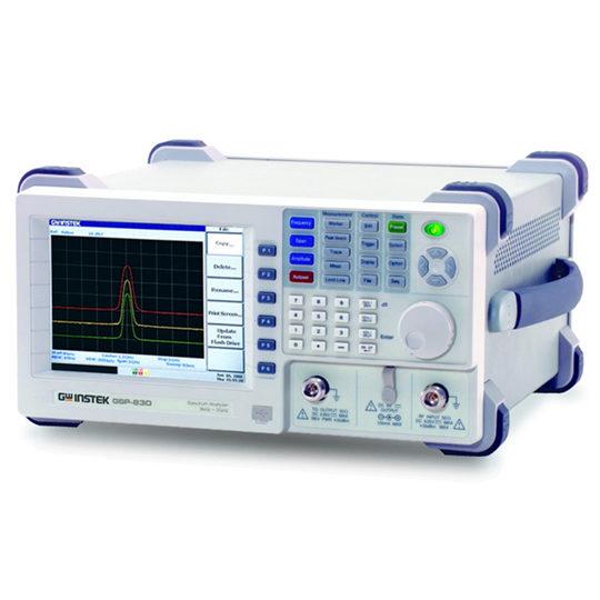 GSP-830 3GHz Spectrum Analyzer front