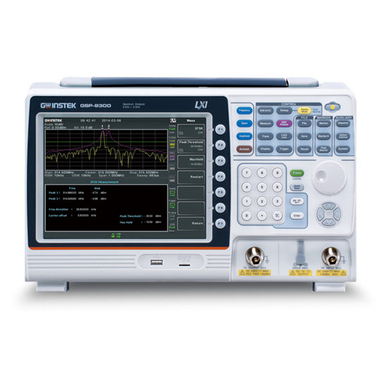 GSP-9300 GSP 9300 Frequency Response Analyser GW Instek Spectrum analyzer