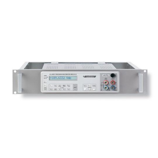 HM8112-3 6 1/2-Digit Precision Multimeter