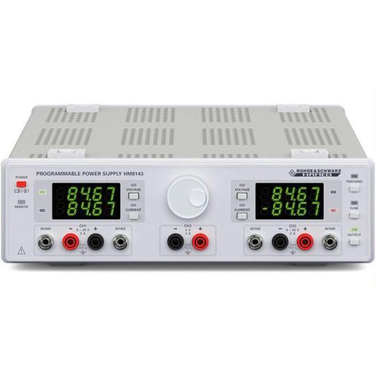 HM8143 - Rohde & Schwarz Hameg programmable Power supply
