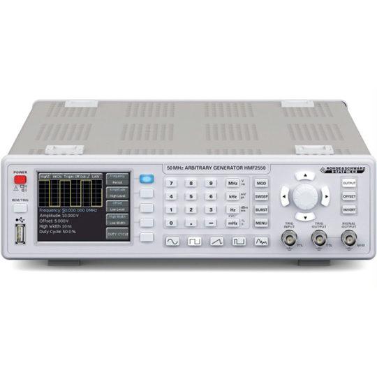 HMF2525 (HMF2550) - Rohde & Schwarz Hameg Arbitrary Function Generator