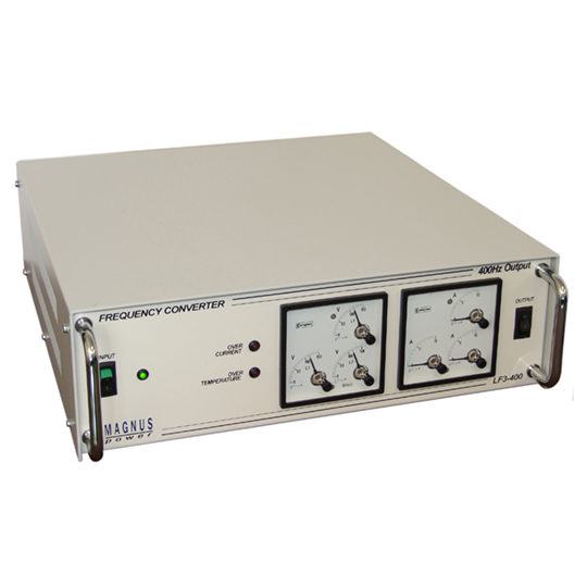 LF3-400 - Magnus Power Frequency Converters