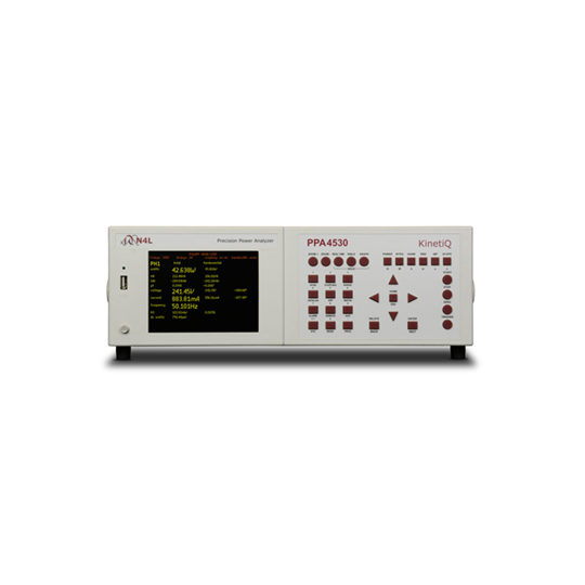 PPA4500: Precision Power Analyzer - N4L front