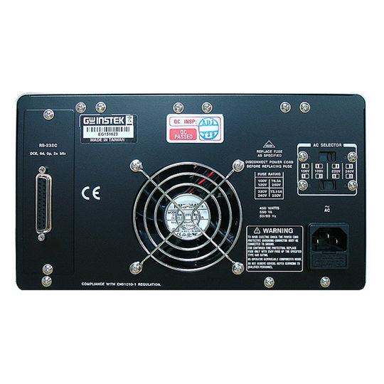 GW Instek PPE-3323 Programmable Linear DC Power Supply back