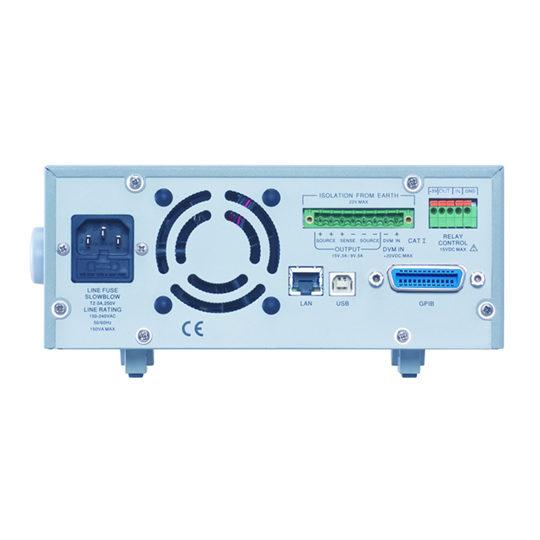 PPH-1503 - GW Instek Power Supply back