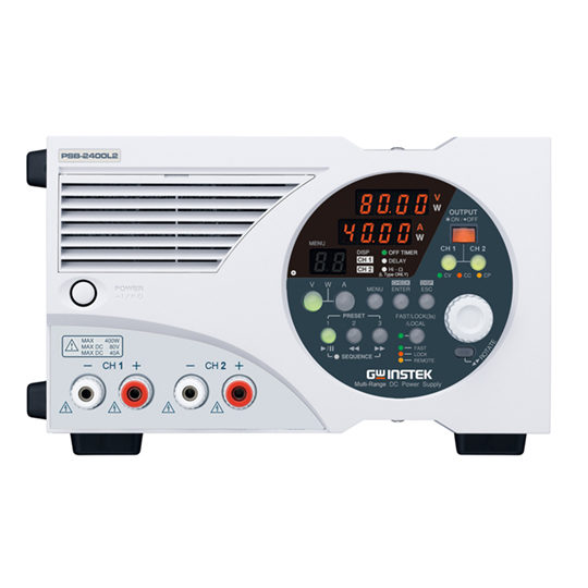 PSB-2000 series high power density programmable multi-range output DC power supply
