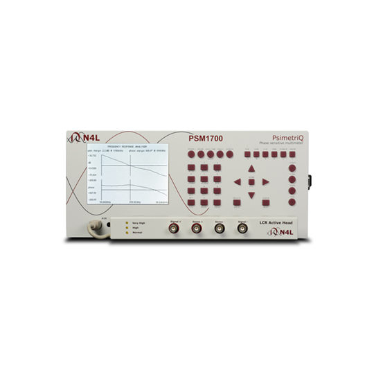 PSM1700 Frequency Response Analyser - N4L front