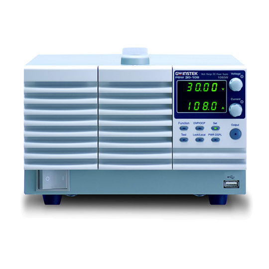 PSW-Series 3 - GW Instek DC Power Supply