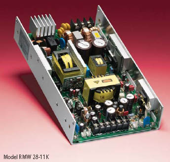 RMW Series - Kepco Power 300-watt general-purpose, U-chassis, single output power supplies