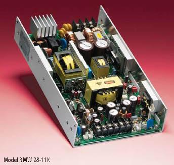 RMW Series - Kepco Power 300-watt general-purpose, U-chassis, single output power supplies