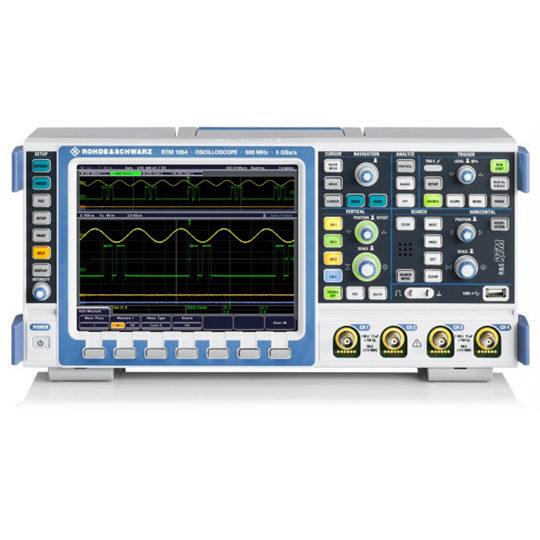 RTM 1000 Digital Oscilloscopes - Rohde & Schwarz Hameg